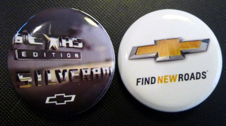 Silverado #Texas Edition Truck Button and Gold Bowtie Emblem Lot of 2 Hat Pins #ChevyTrucks