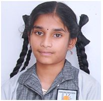 Divyanjali of class Vlll has bagged the 1st prize in essay writing competition held by Hydrology department.