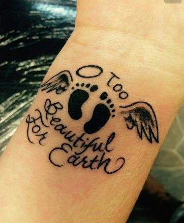 133 best miscarriage baby 4 5 6 images on pinterest for Tattoo designs for lost baby