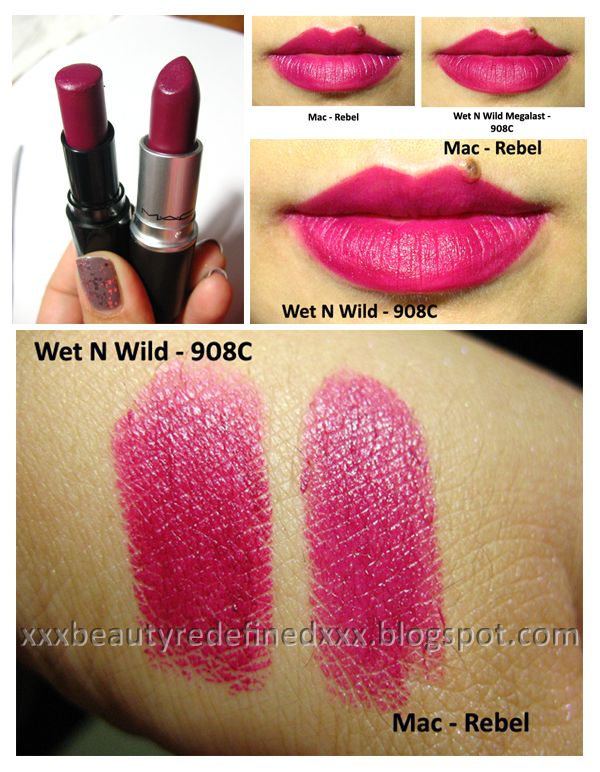 Dupe for Mac REBEL! Need this! Beautiful pigment and a dupe to MAC