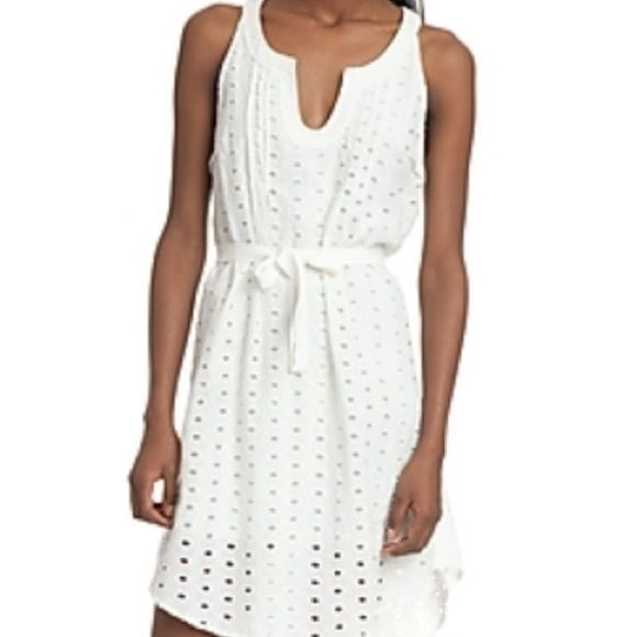 SALETracy Reese Eyelit Dress Never worn tags included. Wear with or without tie belt. Great for bridal showers, graduations and summer nights! Tracy Reese Dresses