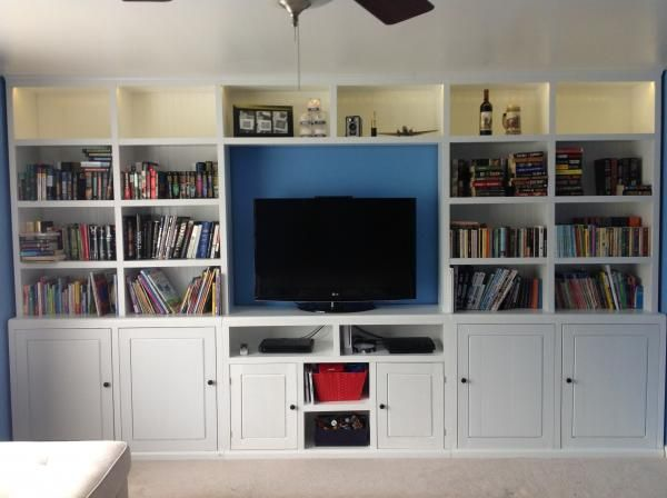 Do it yourself entertainment center plans woodworking projects plans entertainment center do it yourself home projects from ana white solutioingenieria Choice Image
