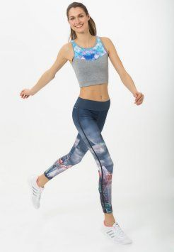 adidas Performance - Tights - minblu