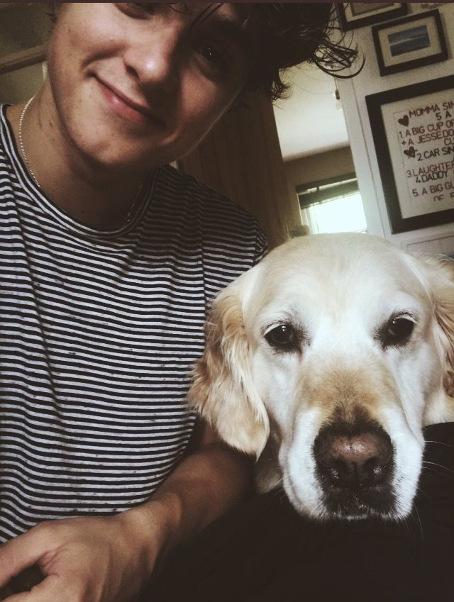 I love that he takes selfies with his dog