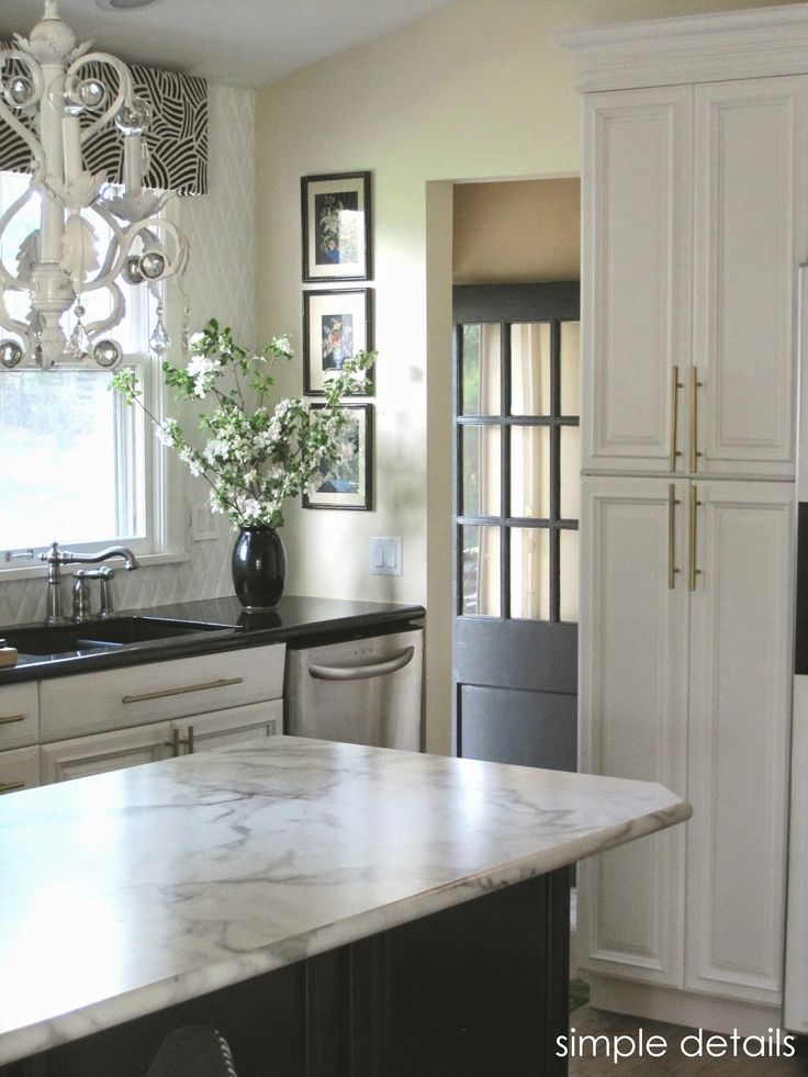 Simple Details One Room Challenge Kitchen Counter Top Is Formica Kitchen Pinterest