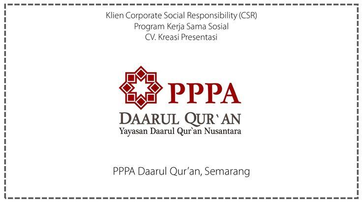CSR Yayasan Daarul Qur'an Nusantara, Semarang