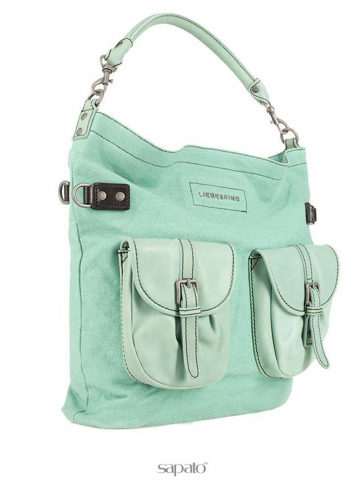 Купить зеленые сумки Liebeskind LK204, текстиль в интернет-магазине Sapato. Цены и отзывы на сумки Liebeskind. Купить с гарантией и доставкой по всей России