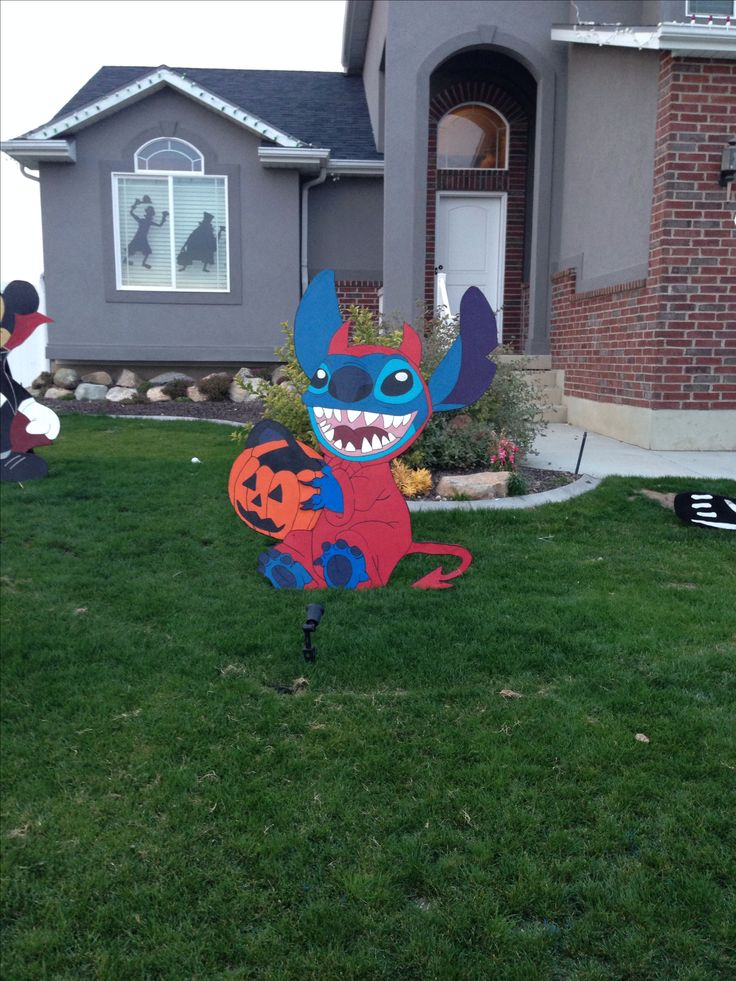 Disney yard art