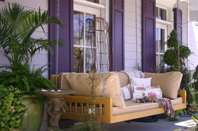 Original Charleston Bed Swing Home Pinterest Gardens