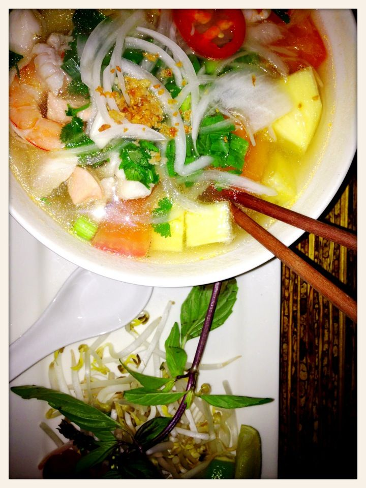 Gorgeous and fragrant Vietnamese food.