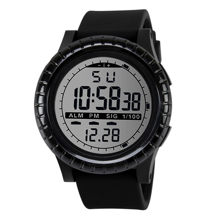NEW Fashion Men's LED Digital Date Countdown Timer Sport Quartz Wrist Watch  gift clock Reloj masculino dignity 8.7 #Affiliate