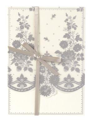 target wedding invitations anna griffin wedding invitations lace petticoat silver - Target Wedding Invitations