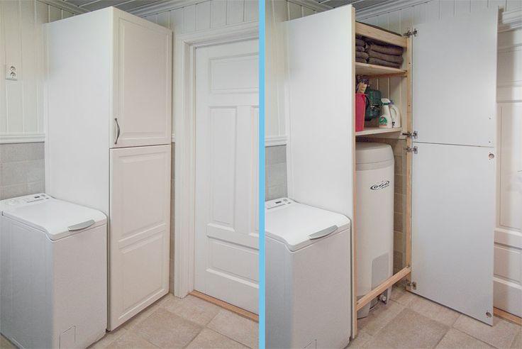 Hei,Jeg har tenkt å bygge et skap rundt varmtvannsberederen som jeg har på badet mitt, skapet skal bli ca 2 meter høyt og 80x80cm. Jeg klarer ikke å finne plater som er 80cm brede så derfor har jeg