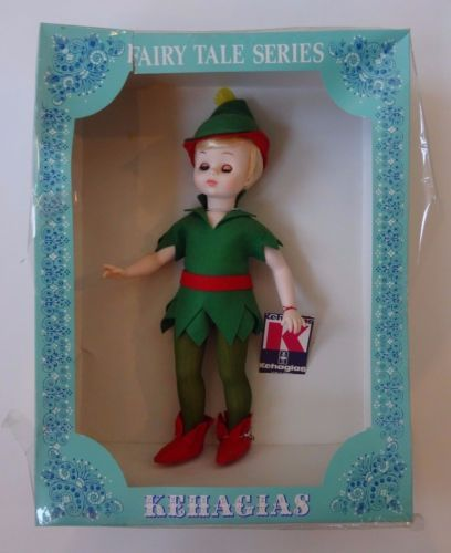 Vintage-Peter-Pan-Fairy-Tale-Series-Kehagias-Doll-Original-Box-Greece-14