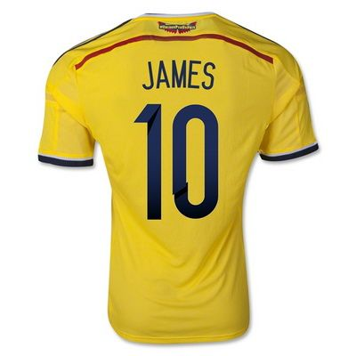 camisetas Argentina mundial 2014 baratas James colombia copa del mundo 2014 primera http://camisetasfutbolbaratas2015.com/