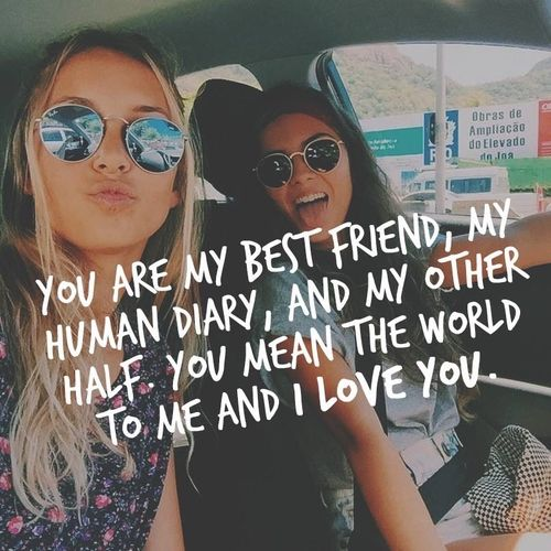 You Are My Best Friend Friendship Quotes