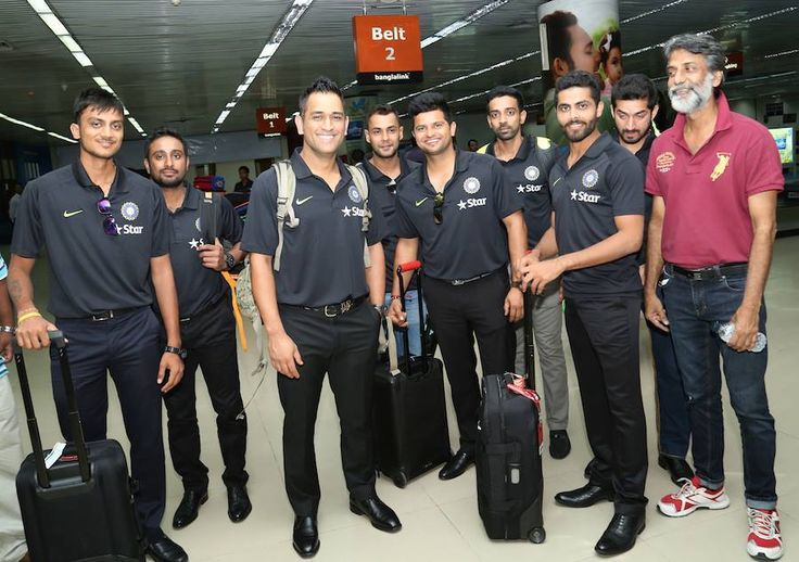 Indian Cricket Team with ‪MS Dhoni‬ arrives in ‪‎Bangladesh‬ for the ODIs matches, get latest ‪cricket‬ news here: http://drcricket7.com/india/category/ban-vs-ind/