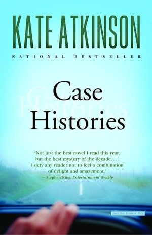 Case Histories (Jackson Brodie Series #1) by Kate Atkinson a breathtaking story of families divided, love lost and found, and the mysteries of fate.  Read this in one day.