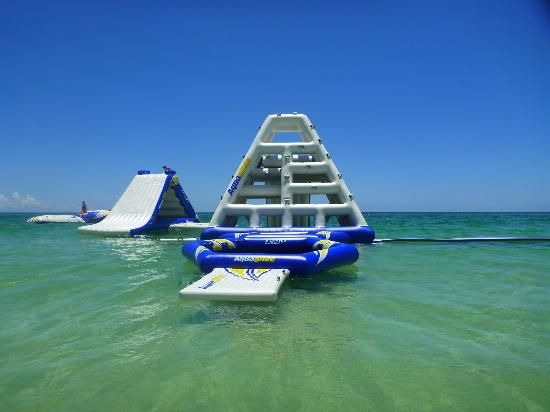 I don't remember seeing this. I'll have to check it out for Spring Break. The Aqua Park Panama City Beach