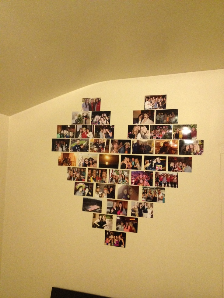 77 best Crafts images on Pinterest | Heart photo collages, Good ...