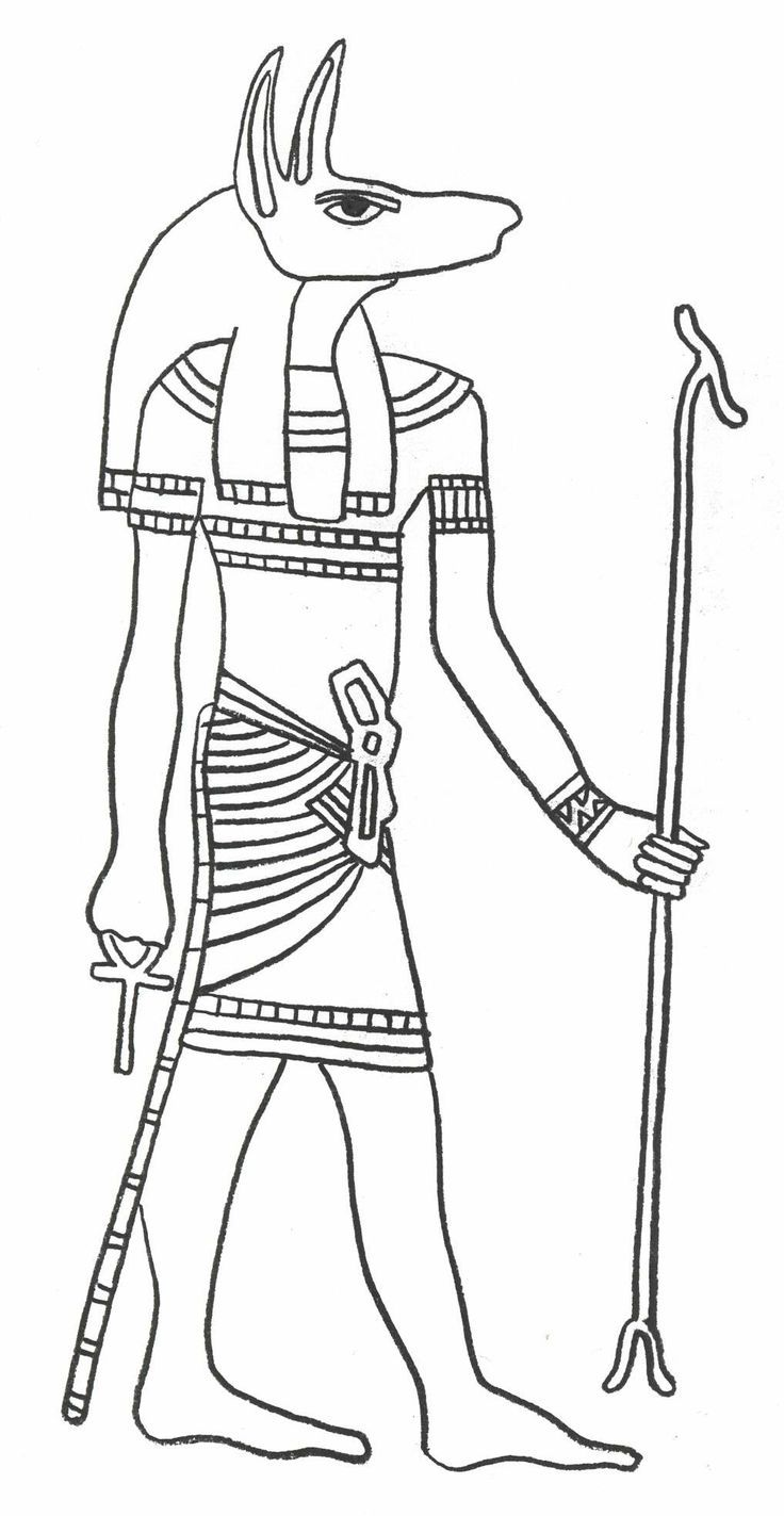 Ancient Egypt Coloring Pages For #Toddlers