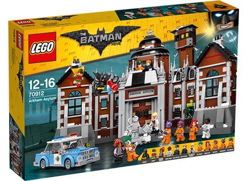 LEGO THE BATMAN MOVIE 70912 Arkhams mentalsjukhus