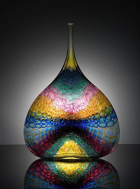 Kentucky Museum of Art and Craft.Stephen Rolfe Powell American Glass Artist