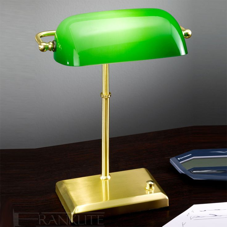 Green Office Desk Lamp - Real Wood Home Office Furniture Check more at http://www.drjamesghoodblog.com/green-office-desk-lamp/