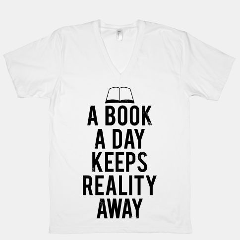 A Book A Day Keeps Reality Away   HUMAN