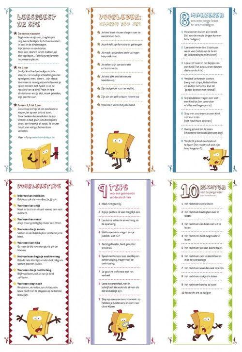 Bladwijzers met tips – Klasse voor Ouders