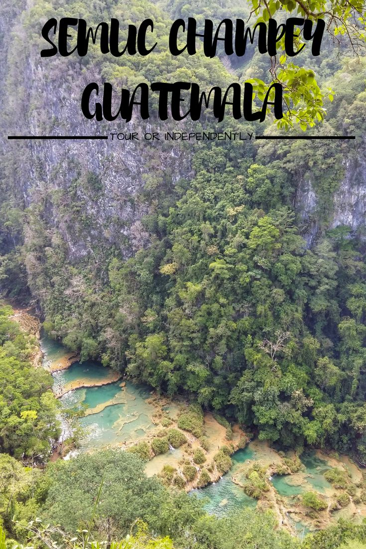 Semuc Champey is one of the highlights of most backpackers' visit to Guatemala. But, is it better to take a Semuc Champey tour, or visit without a guide?