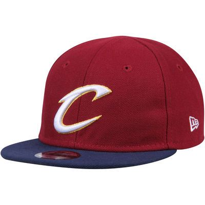 Cleveland Cavaliers New Era Infant Current Logo My 1st 9FIFTY Snapback Adjustable Hat - Cardinal/Navy