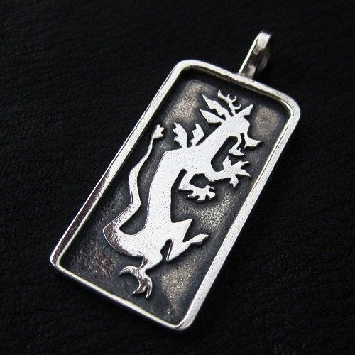Silver Discord pendant by TheSunkenCity on Etsy