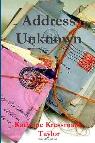 address unknown kressmann taylor pdf