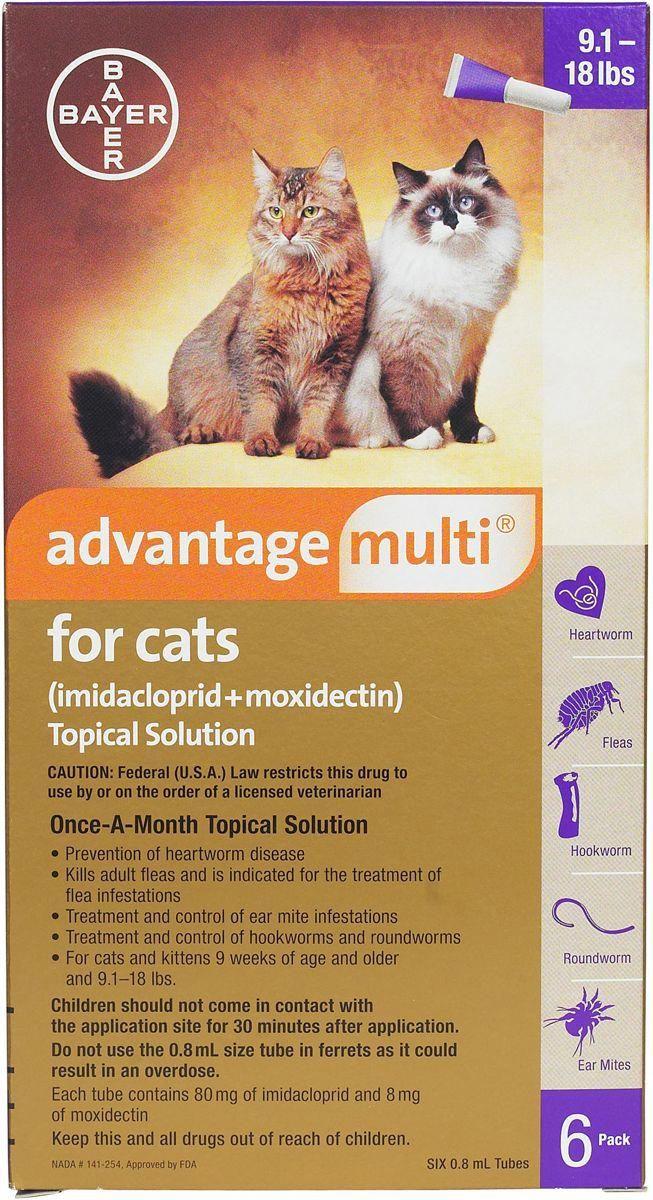 Code 5431040879 Cats Heartworm Flea Treatment Fleas Cats