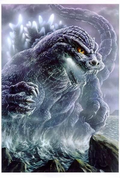 godzilla | Godzilla - Antman/Giantman (with Prep) vs Godzilla