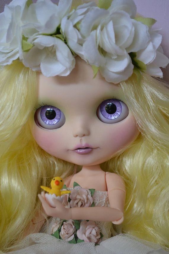 Ooak Custom Factory/Fake Blythe Doll, Penny