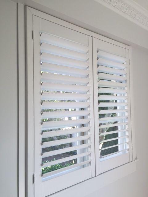 White Painted shutters