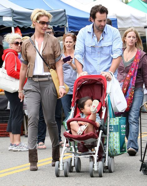 Katherine Heigl And Family Spend Mother's Day At The Hollywood Farmers Market