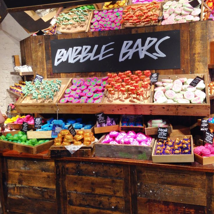 LUSH Oxford street - the new store and the exclusive products