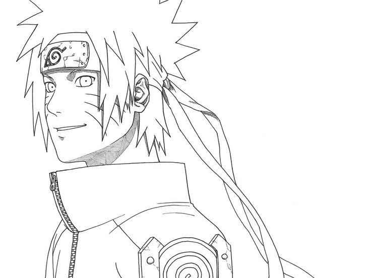 Naruto Coloring Pages Hokage Coloring Pages Adult Coloring Pages Tailed Beasts Naruto