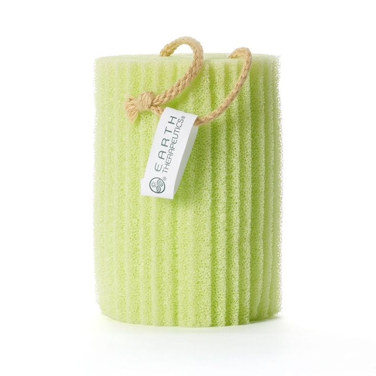 Earth Therapeutics Super Loofah Sponge, Green