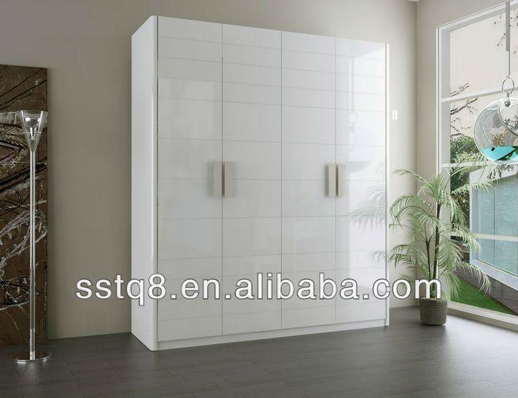 2014 muebles para el hogar armario gabinete de muebles de for Closet de madera para dormitorios
