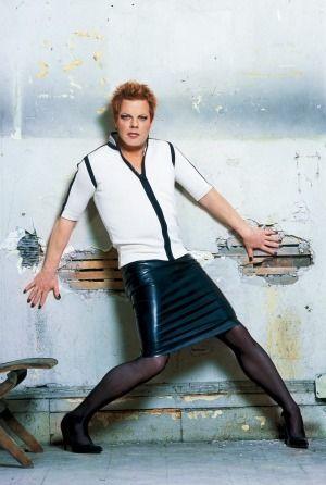English comedian Eddie Izzard has long been a fan of dresses.