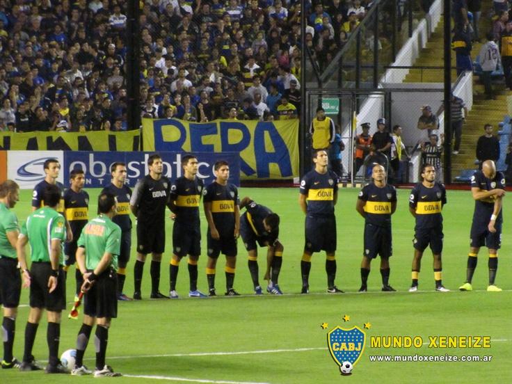 Minuto de silencio - Boca vs Unión 3 marzo 2013