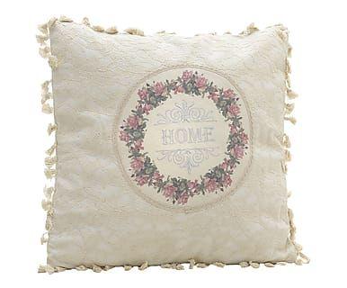 Cuscino arredo in misto cotone Home, 45x45 cm