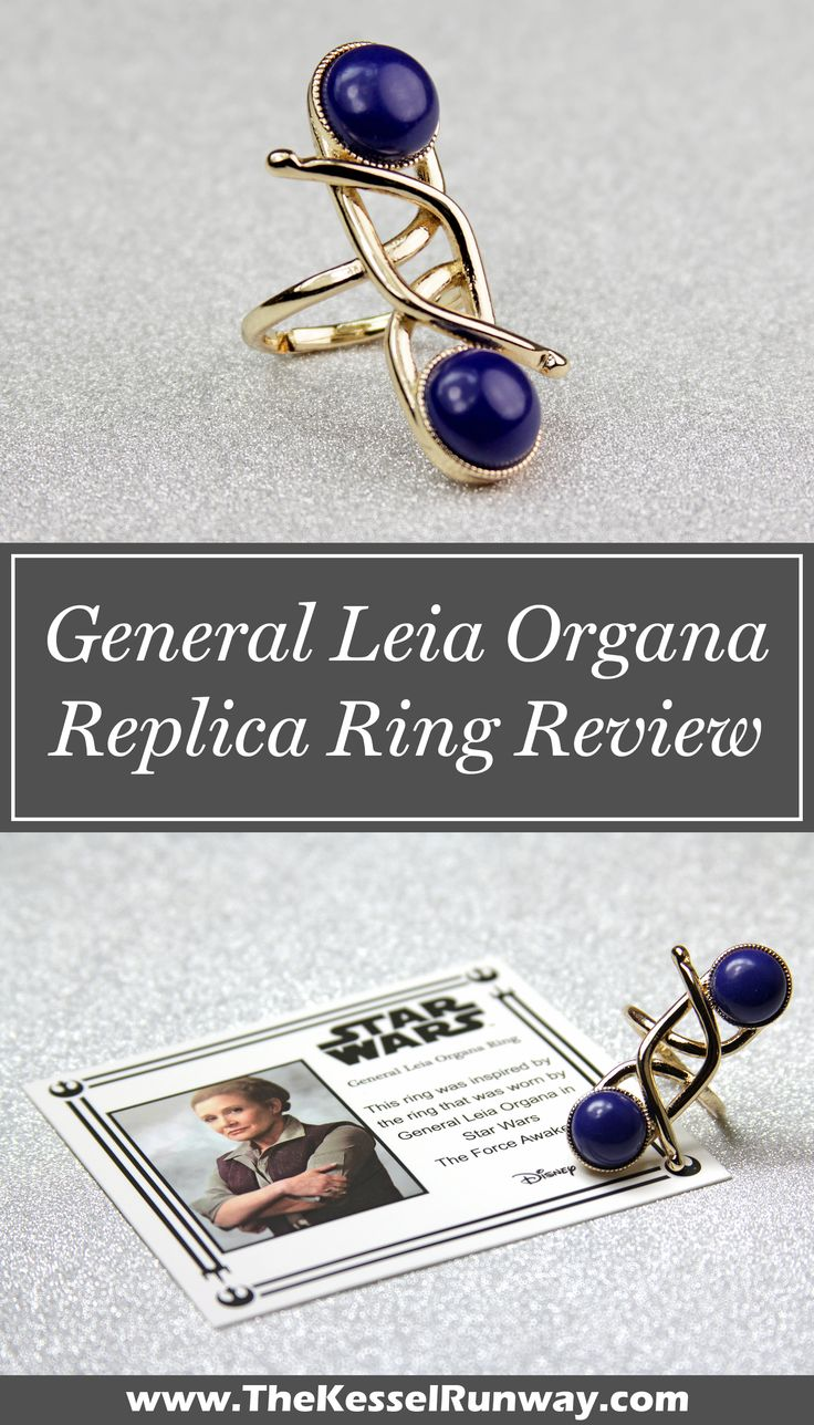 Review - Star Wars General Leia Organa replica costume ring as seen in The Force Awakens and The Last Jedi ⭐️The Kessel Runway ⭐️ Star Wars fashion ⭐️ Geek Fashion ⭐️ Star Wars Style ⭐️ Geek Chic ⭐️