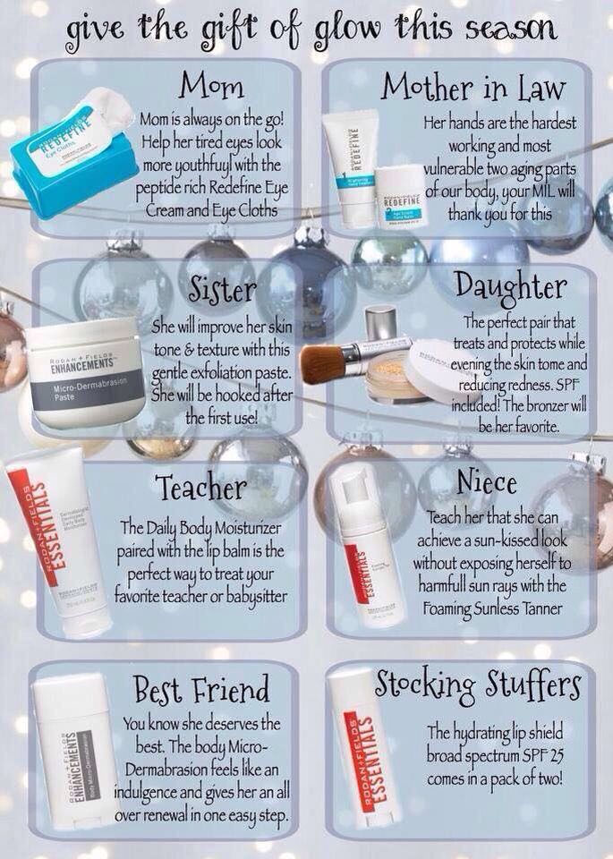 174 best images about rodan and fields on pinterest for Customer holiday gift ideas