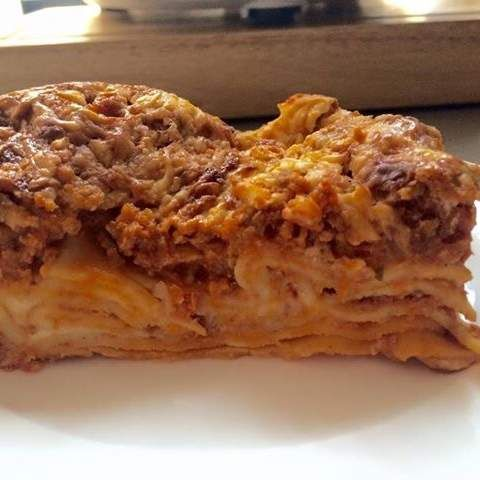 Recipe TASTY BEEF LASAGNE by Aussie TM5 Thermomixer - Recipe of category Pasta & rice dishes