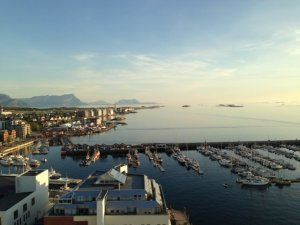 Scandic sea was opened in 2014 and is Bodø's tallest hotel. Situated in the center and have immediate access to...